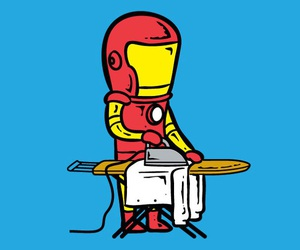 iron man, funny, and ironman image