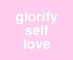 pink, quote, and self love image