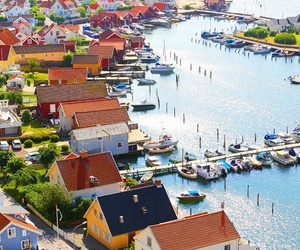 sweden, sea, and travel image
