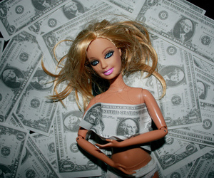 barbie and money image