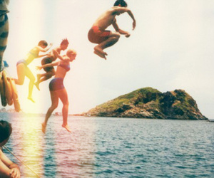 friends, summer, and fun image