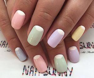 colors, nail art, and nails image