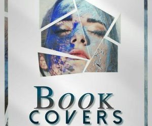 blue, covers, and book image