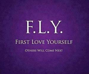 quotes, fly, and yourself image