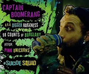 suicide squad, captain boomerang, and dc comics image