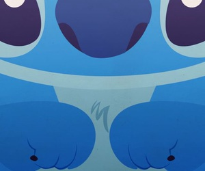 stitch, wallpaper, and blue image