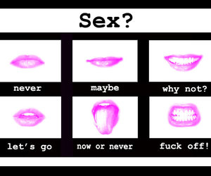 lips, mouth, and sex image
