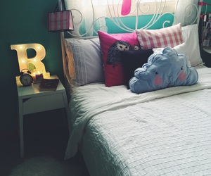 bed, decor, and ikea image