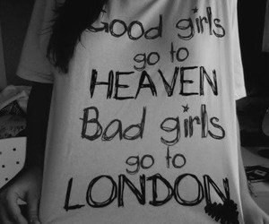london, girl, and heaven image