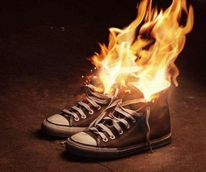 fire and converse image