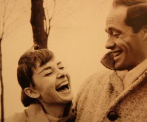 love, audrey hepburn, and happy image