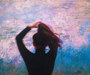 girl, art, and hair image
