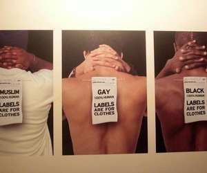 label, black, and gay image