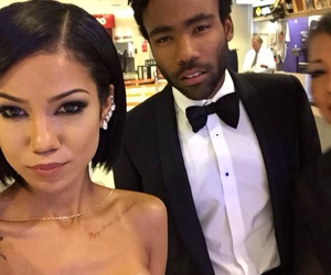 childish gambino and jhene aiko image