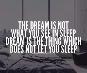 Dream, motivation, and quotes image
