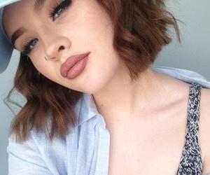 girl, grunge, and makeup image