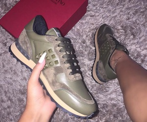 Valentino, green, and fashion image
