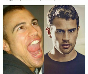 funny and theo james image