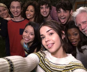 the fosters, maia mitchell, and brandon foster image