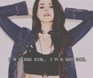 lana del rey, sad, and sad girl image