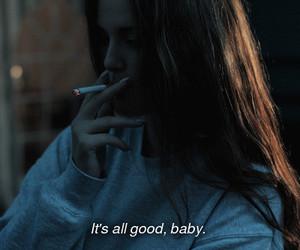 cigarette, fashion, and girl image