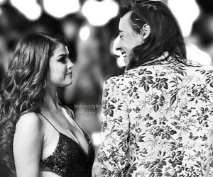 selena gomez, harlena, and Harry Styles image