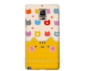 cat, phone case, and samsung galaxy note 4 image