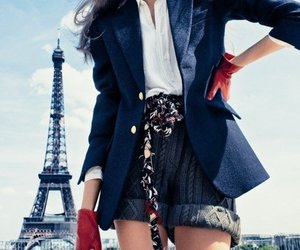 fashion, paris, and girl image