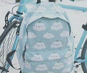 blue, bag, and backpack image