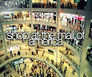 mall, america, and shop image