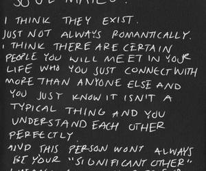 quotes, love, and soul mate image