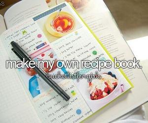 bucket list, Dream, and recipe image