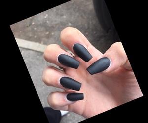 black, fashion, and finger image