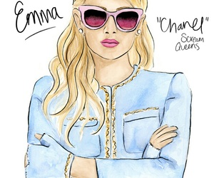 scream queens, chanel, and emma image