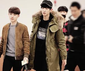 chanyeol, exo, and kyungsoo image
