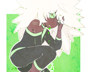 drawing, gem, and steven universe image