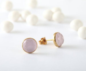 etsy, christmas gift, and pink earrings image