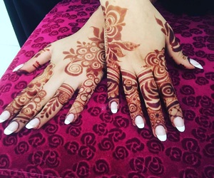 Image In Hands And Henna Mehendi Collection By Rose Of Paradise