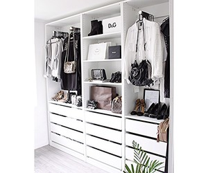 beauty, closet, and decor image