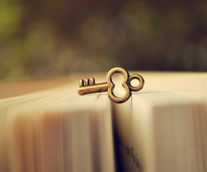 book, key, and photography image