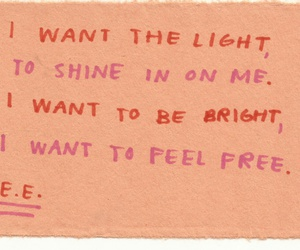 quotes, poem, and bright image