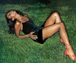 90s, Naomi Campbell, and vintage image