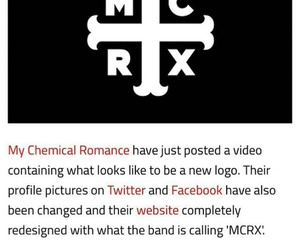 emo, my chemical romance, and OMG image