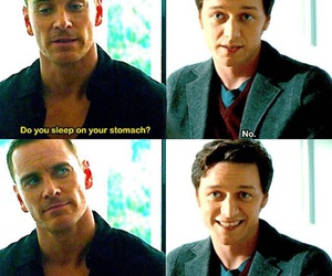 gay, james mcavoy, and otp image