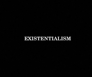black and existentialism image