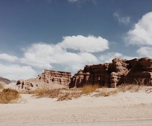 blue, theme, and desert image