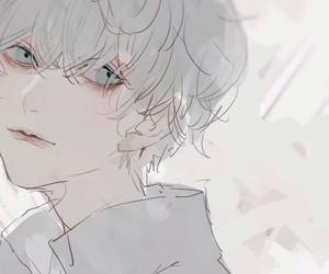 boy, illustration, and pastel image