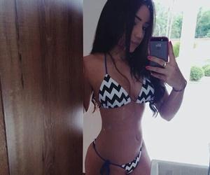 bikini, iphone, and body goals image