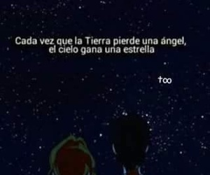 Angeles, estrellas, and frases image