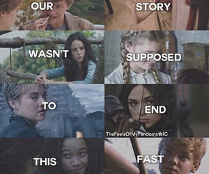 harry potter, divergent, and teen wolf image